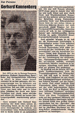 Zur Person: Gerhard Kannenberg